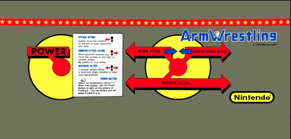 Arm Wrestling CPO - Control Panel Overlay
