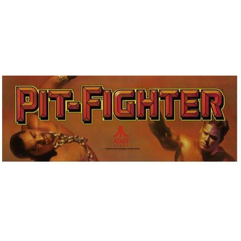 Pit-Fighter Arcade Marquee