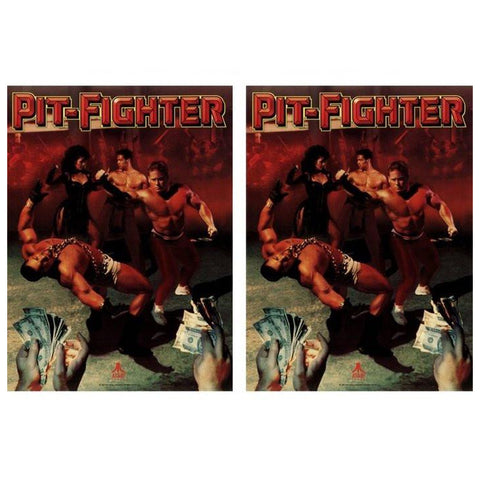 Pit-Fighter Side Art