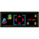 Pac-Man Mini Cabaret Control Panel Overlay - CPO Top Only