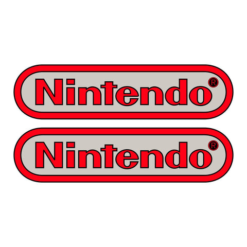 PlayChoice Nintendo Logo Side Art Set