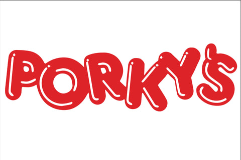 Porky's Sign