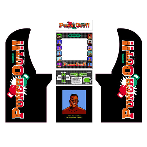 Arcade1Up - Punch-Out Complete Art Kit