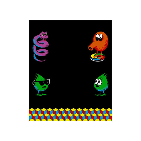 QBert Kickplate Decal (SDS)