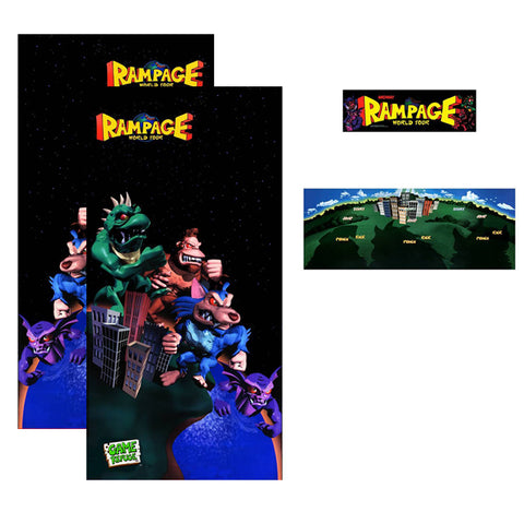 Rampage World Tour Complete Restoration Kit