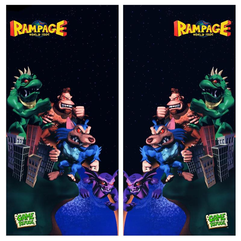 Rampage World Tour Side Art Escape Pod Online
