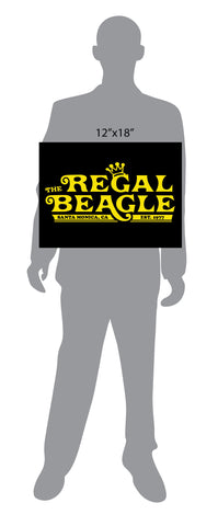 The Regal Beagle Three's Company Sign