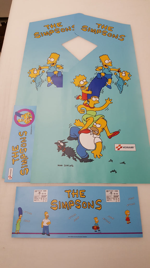 The Simpsons Complete Graphics Restoration Kit Escape