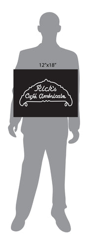 Rick's Cafe Americain Casablanca Sign