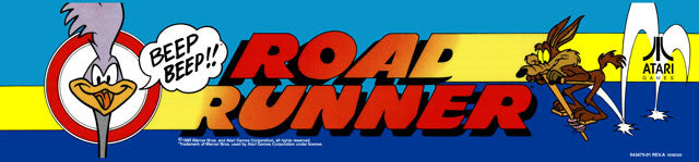 Road Runner Arcade Marquee
