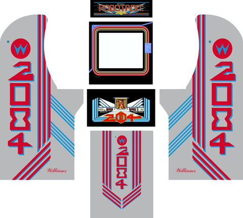 Arcade1Up - Robotron Complete Art Kit