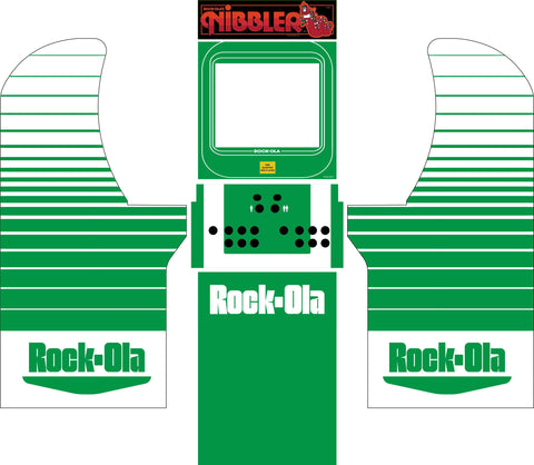Arcade1Up - Nibbler Rock-Ola Complete Art Kit