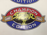 Street Fighter II Champion Edition Side Art Decals (SDS)
