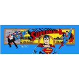 SuperMan Arcade Marquee