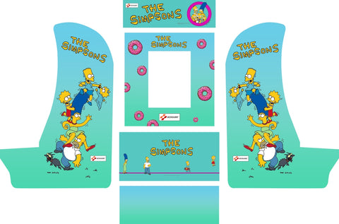 Arcade1Up Countercade Simpsons Arcade Kit