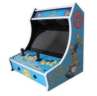 bartop arcade cabinet kit simpsons bartop arcade kit escape pod 10935