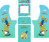 Arcade1Up - Simpsons Complete Art Kit