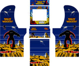 Arcade1Up - Space Invaders Custom Complete Art Kit