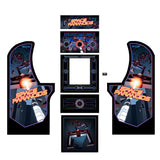 Arcade1Up - Space Paranoids Complete Art Kit