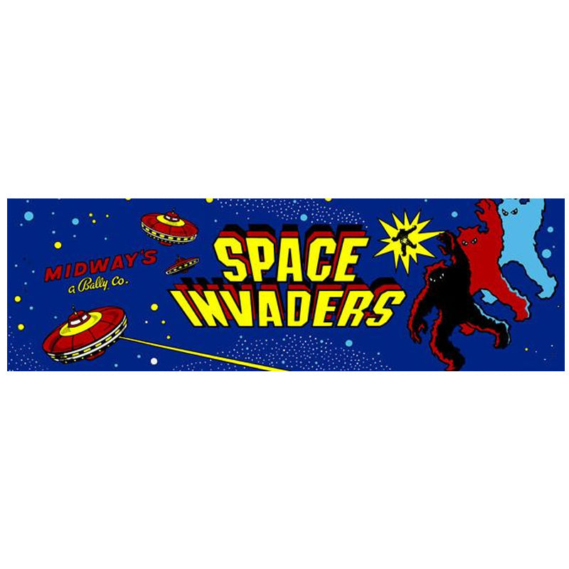 Space Invaders Arcade Marquee Escape Pod Online