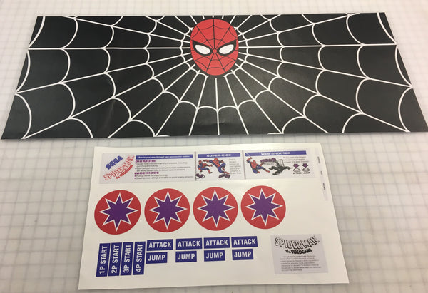 Spiderman CPO - Control Panel Overlay