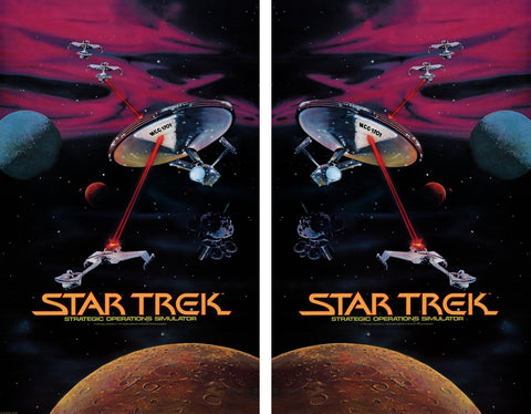 Star Trek Upright Side Art Decals