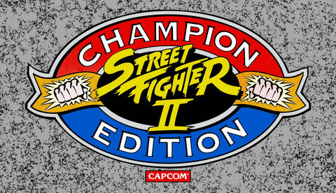 Big Blue Street Fighter II Champion Edition Marquee