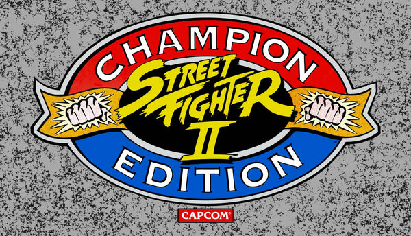 Street Fighter II Champion Edition Marquee