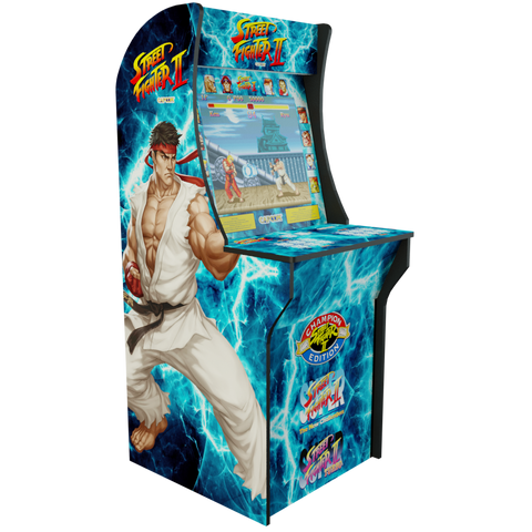 Arcade1Up - Street Fighter 2 II Complete Art Kit