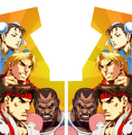 Street Fighter Side Art (for Konami cabinet)