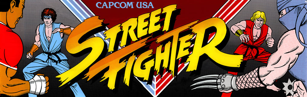Street Fighter 1 Marquee Escape Pod Online