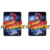 Street Fighter Side Art Decals (Universal)