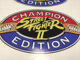 Street Fighter II Champion Edition Side Art Decals