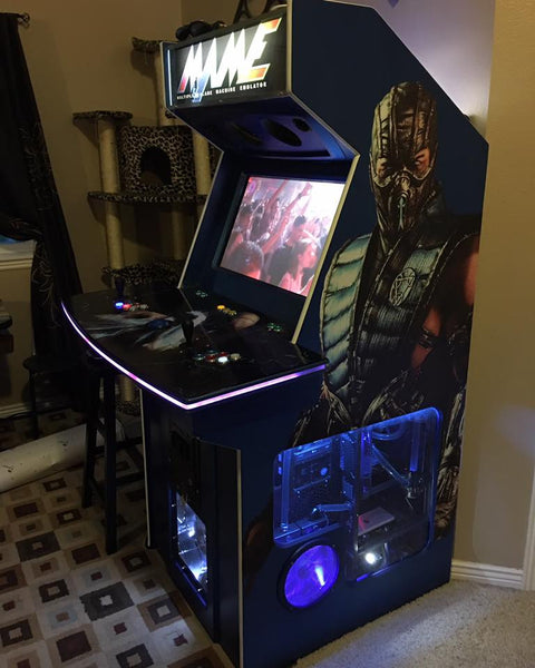Custom Multicade Side Art for Arcade Games