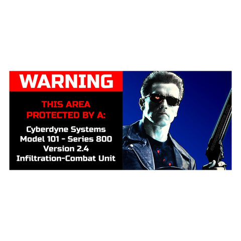 T2 Home Security Sticker