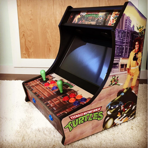 Custom Arcade Bartop Graphics Kit – Escape Pod Online