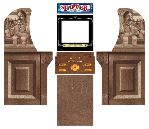 Arcade1Up - Tapper Complete Art Kit