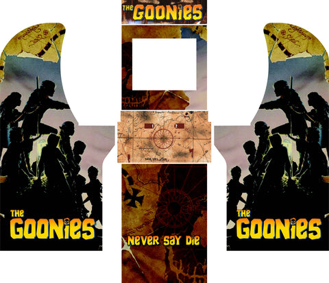 Arcade1Up - The Goonies Complete Art Kit