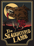 American Werewolf in London - The Slaughtered Lamb Sign