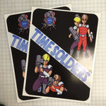 Time Soldiers Side Art Decals