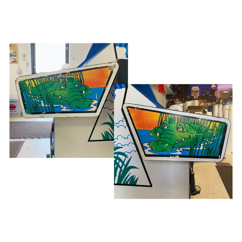 Toobin Gators Decal Set