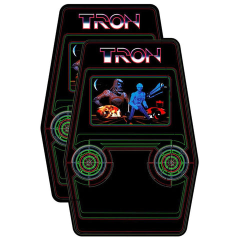 Tron Arcade Side Art
