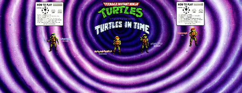 TMNT Turtles In Time (Original) - CPO Control Panel Overlay