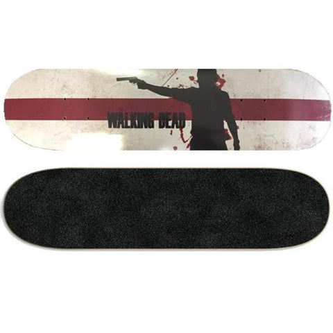 Walking Dead Skateboard Wall Art - Rick Grimes