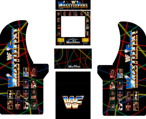 Arcade1Up - WWF Wrestlefest Complete Art Kit