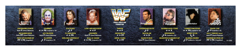 Wrestle Mania  Instruction Bezel Sticker