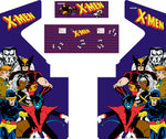 4 Player X-Men Complete Restoration Kit (X-men 4 Player)