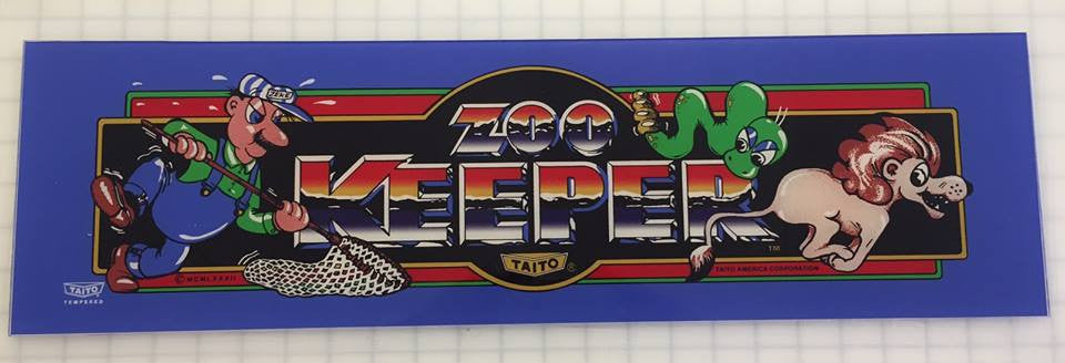 Zookeeper Arcade Marquee