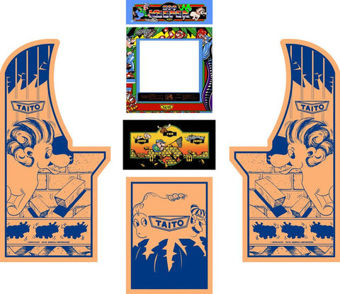 Arcade1Up - Zookeeper Complete Art Kit