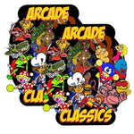 Arcade Classics Multicade Side Art